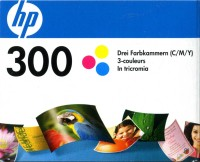 Druckerpatrone HP 300 CC643EE color