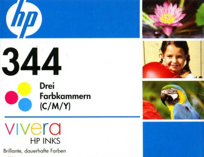 Druckerpatrone für HP DeskJet 5740 / 6520 / 6540 / 6840 / OfficeJet 7210 / 7310 / 7410 / PSC 2350 / 2355 / 2610 / 2710 / PhotoSmart 8150 / 8450 Color color (HP344 C9363EE)
